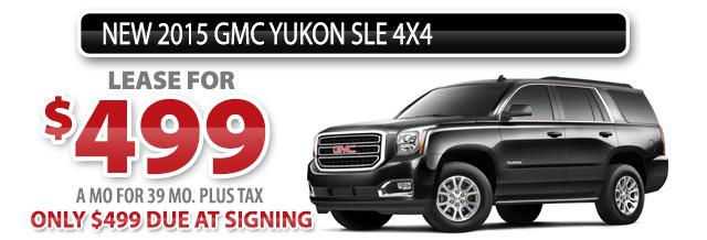 NEW 2015 GMC YUKON SLE 4X4