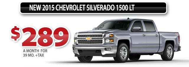 NEW 2015 CHEVROLET SILVERADO 1500LT