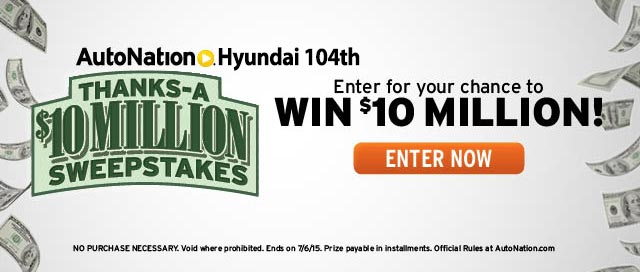 AutoNation Hyundai 104th