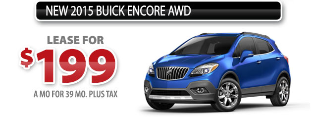 NEW 2015 BUICK ENCORE AWD