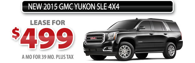 NEW 2015 GMC YUKON SLE 4X4