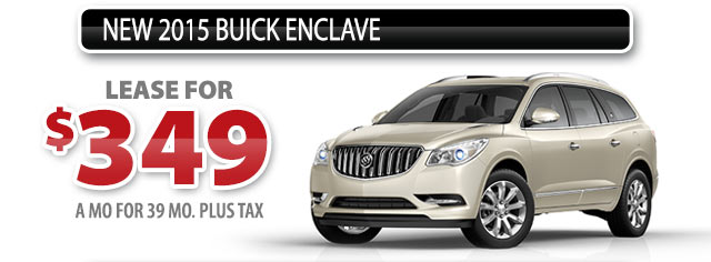 NEW 2015 BUICK ENCLAVE