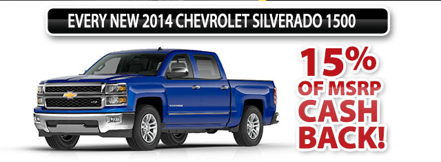 15% OF MSRP