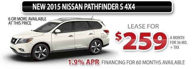 NEW 2015 NISSAN PATHFINDER S 4X4