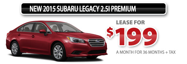 New 2015 Subaru Legacy 2.5i Premium