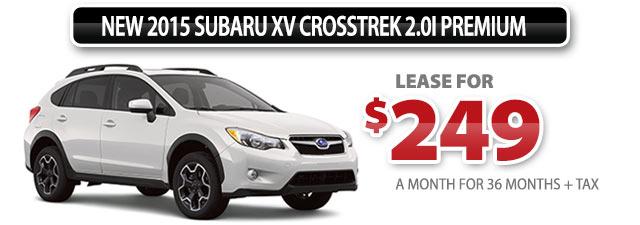 New 2015 Subaru XV Crosstrek 2.0i Premium