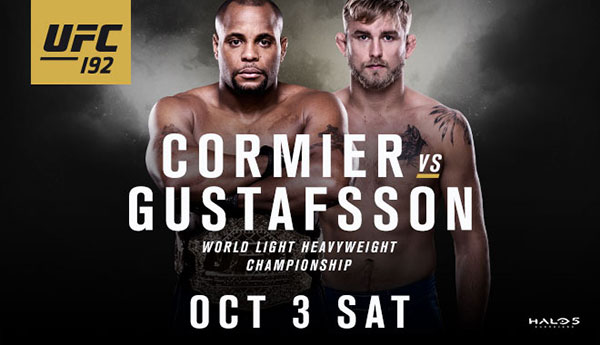 UFC 192 at Toyota Center October 3rd