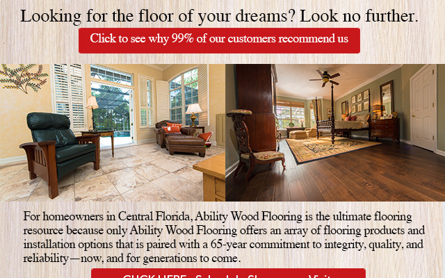 Ability Wood Flooring's best specials of the year!