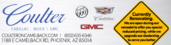 Coulter Cadillac Buick GMC on Camelback