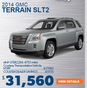 2014 GMC Terrain SLT2