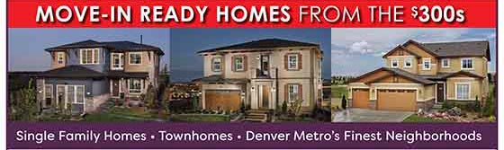 Move-In ready homes from the $300s