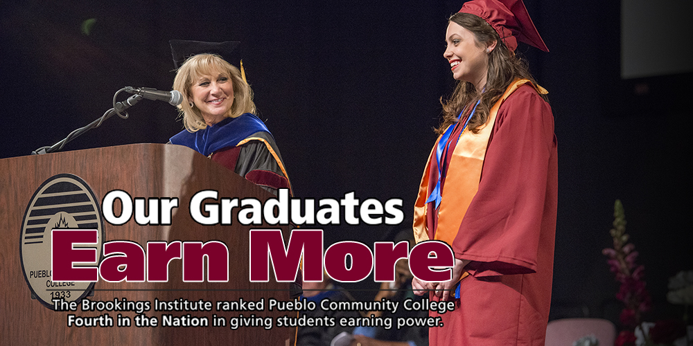 Our Graduates Earn More - The Brookings Institute ranked PCC Fourth in the Nation in giving students earning power.